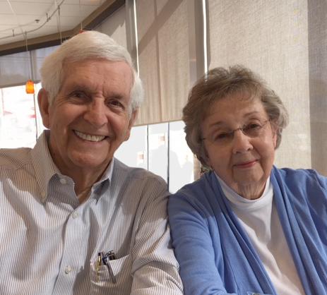 Joe & Betty Glenn- founding pres. & sec.